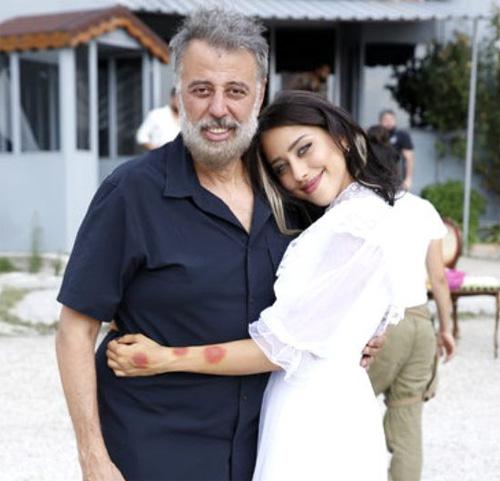 Hamdi Alkan ve kızı  Zeynep Alkan