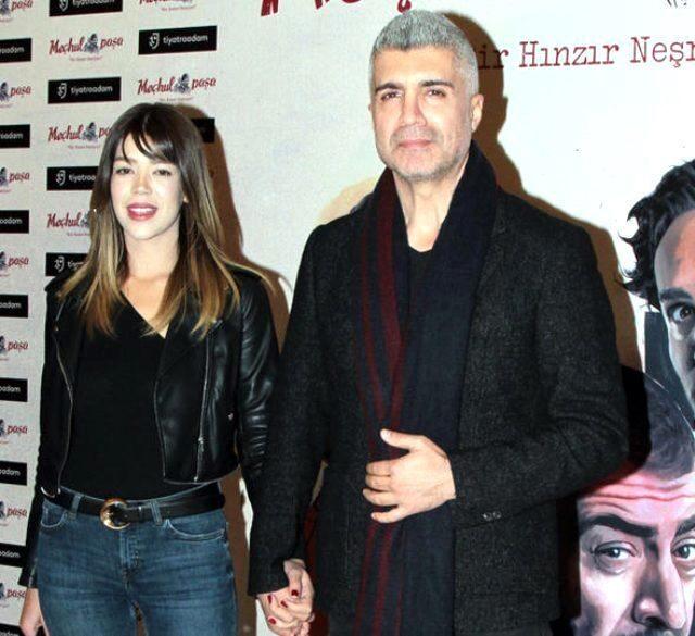 Feyza Aktan ve eşi Özcan Deniz